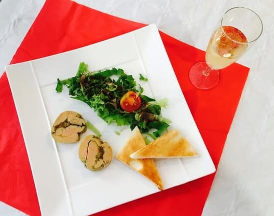 Entrée : Le Mel'Laure  - Foie gras farci aux oignons confits... Une tuerie ! -