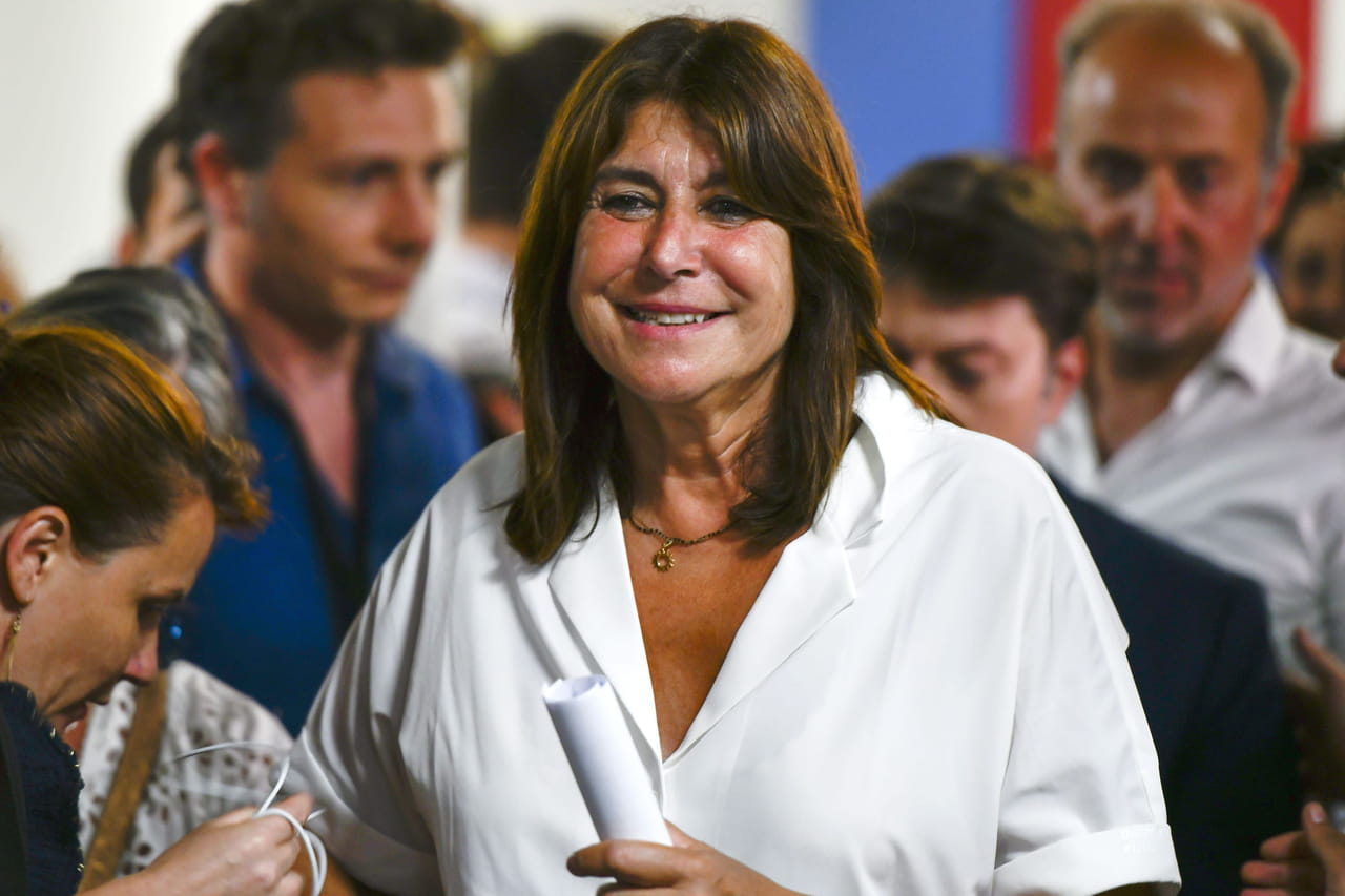 Municipales: Michèle Rubirola, tête de liste de l'union de la gauche, élue maire de Marseille