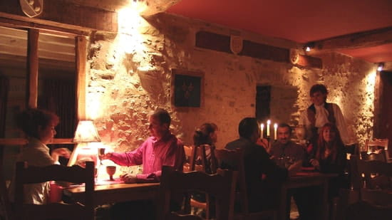 Auberge Logis de Mirepoix  - salle médiévale -