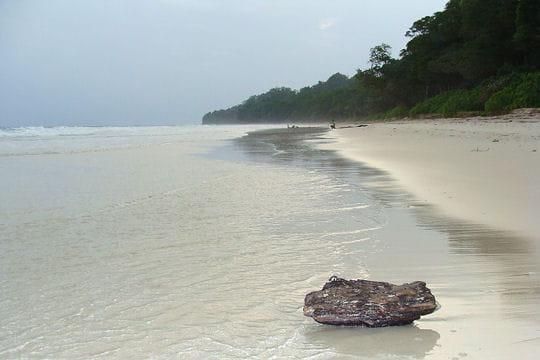 Havelock, une plage protégée