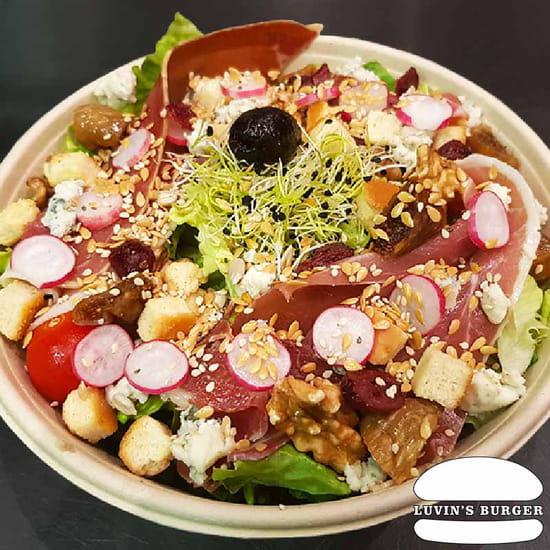 Plat : Luvin's Burger  - Salade Serra -   © Luvin's Burger