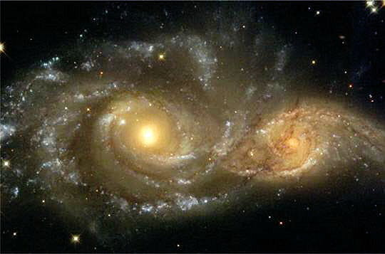 Interaction galaxies