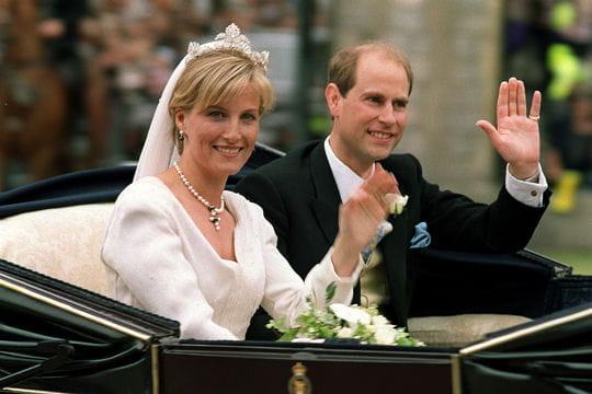 Le Prince Edward et Sophie Rhys-Jones