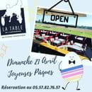 Restaurant : La Table de L'Hippodrome  - PAQUES -   © OUI