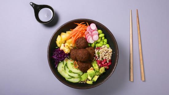 Plat : Yellow Kitchens  - Poke Veggie -   © Yellow Kitchens