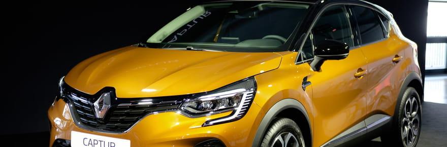 Les photos du nouveau Renault Captur à Francfort