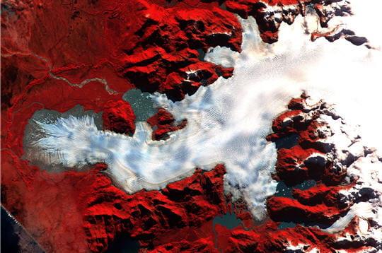 Le feu et la glace au Chili