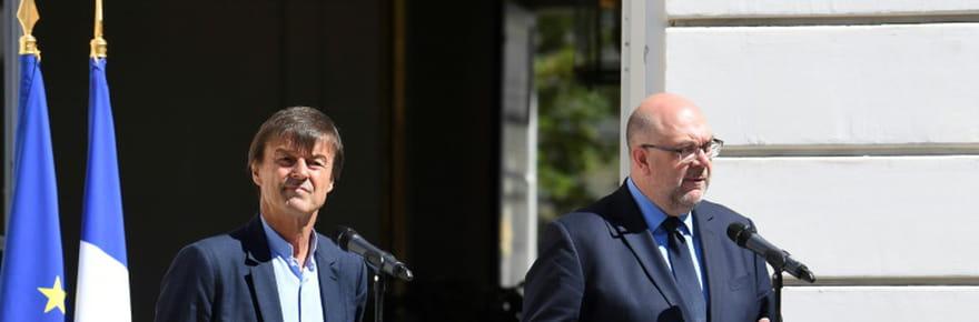 """Travert et Hulot créent une """"task force"""" pour sortir du glyphosate en 3ans"""