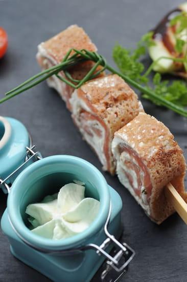 Le Laumière  - Sushis de saumon -   © Laumiere