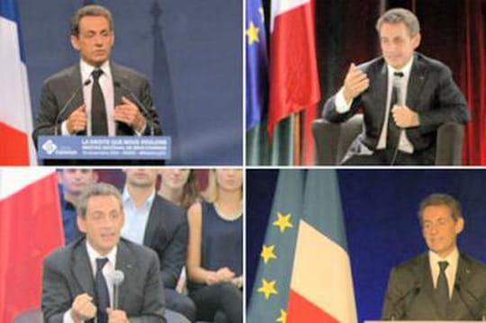 Election UMP: quand Sarko joue leprof dephilo [VIDÉO]