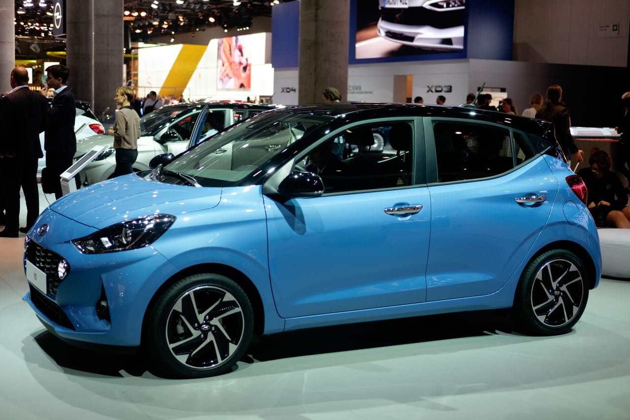 Hyundai i10: la petite i10évolue, les photos au Salon de Francfort