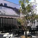 Ristorante Torretti Pizzeria  - Terrasse ouverte a l'arrière du restaurant -