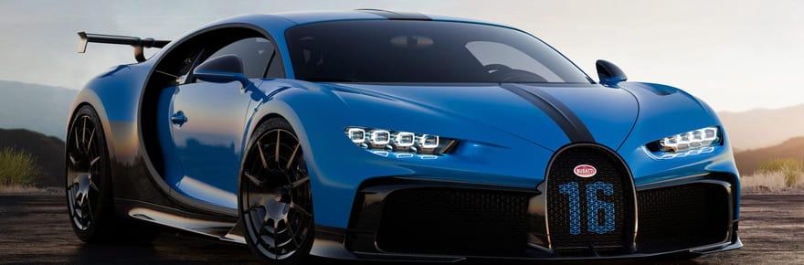 Bugatti Chiron: la version Pur Sport se dévoile, quel prix?