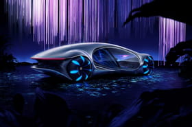 Les photos du concept car Mercedes Vision AVTR