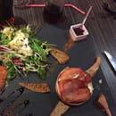Entrée : La Baraque  - Camenbert rôti au jambon serrano  -