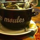 Plat : Moules et Compagnie  - Moules à l'homardine avec frites maison le 12/09/13 un vrai délice ! -