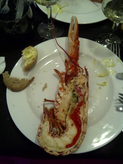 Le Hamelin  - le 1/2 homard du plateau -   © cynthia lavigogne