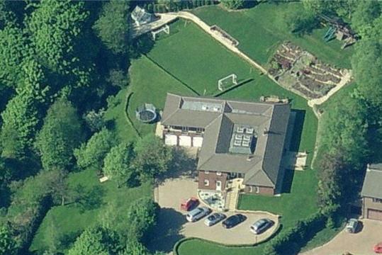 La maison de Paul Scholes