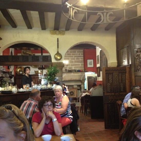 Restaurant : Café Breton  - Intérieur salle du rdc  -