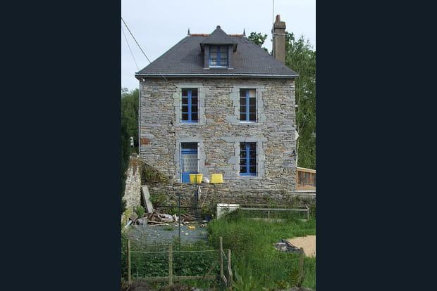 rénovation maison bretonne en pierre