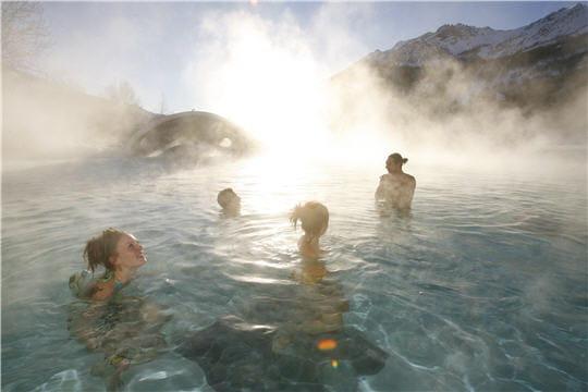 Les grands bains du Monêtier