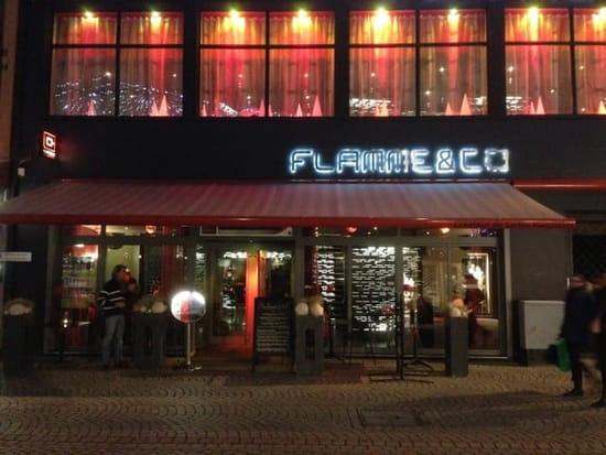 Restaurant : Flamme&co  - Façade grand rue  -