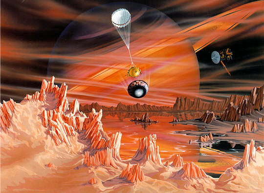 Hydrocarbures Titan