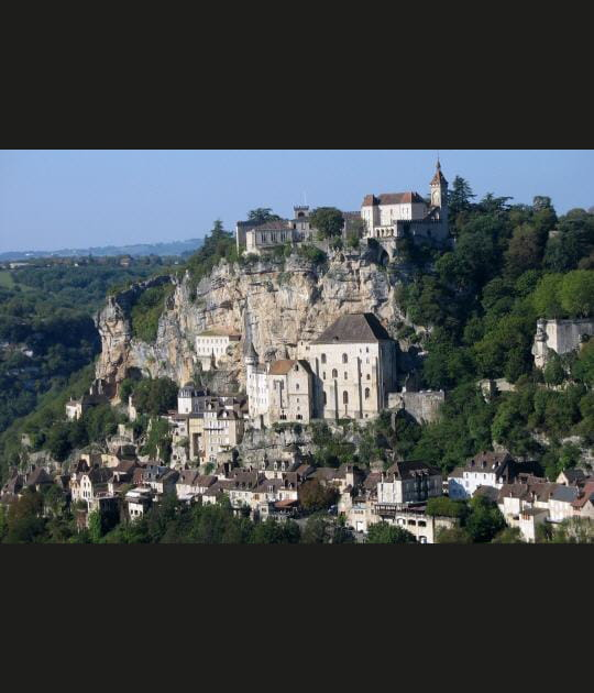 Rocamadour, la cité du vertige