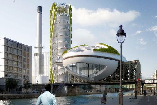 Une tour dépolluante à Paris: Antismog