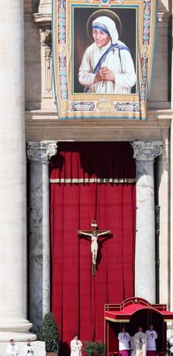 Canonisation de Mère Teresa à Rome en 2016