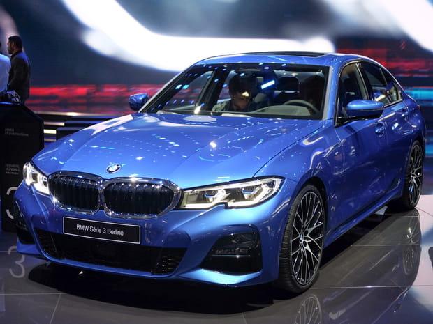 Les photos de la BMW Série 3au Mondial de l'Auto