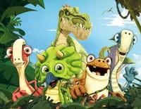 Gigantosaurus : Les cinq amis. - Un petit service