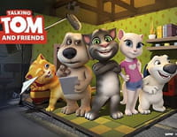 Talking Tom and Friends : Concours d'appli