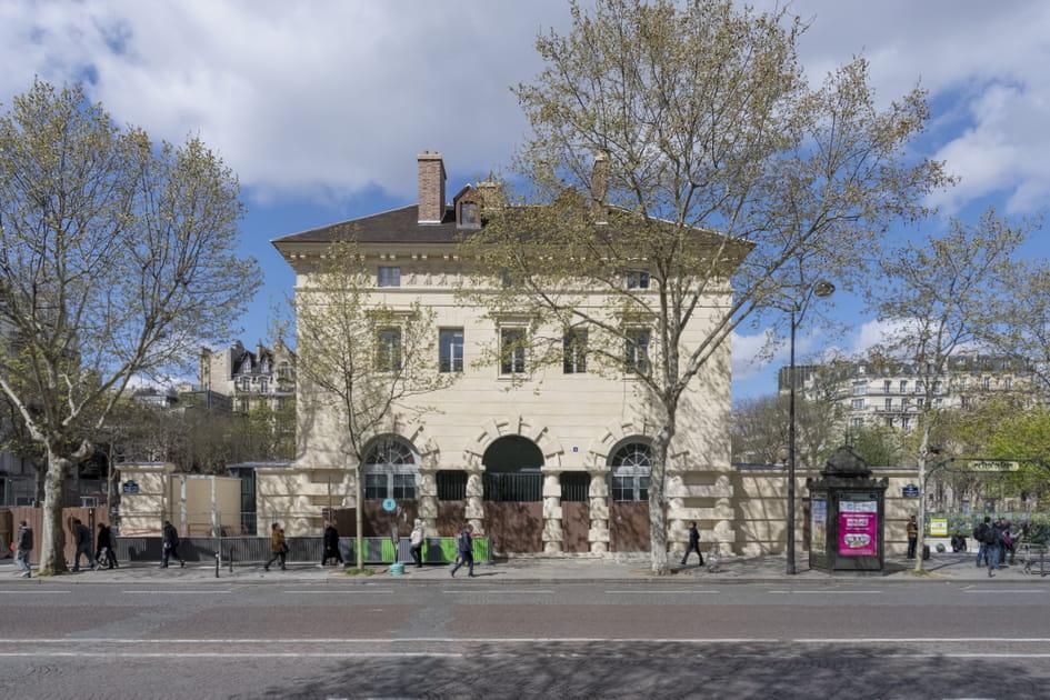 Place Denfert-Rochereau, vue sur le musée