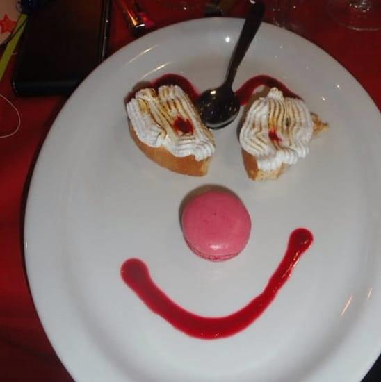 Dessert : Brasserie La Plage  - Le sourire de fin de repas -