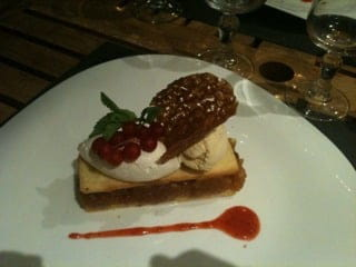 Dessert : U Culombu  - Tarte tatin revisitée -