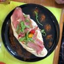 Plat : La Terrasse  - Très bonne pizza copieuse et savoureuse -