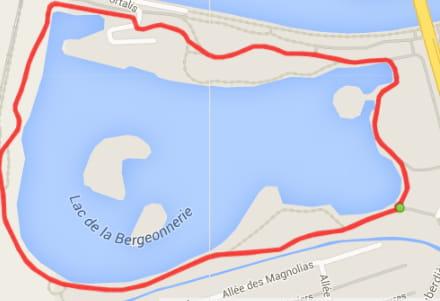 Tours : le lac de la Bergeonnerie (4,3km)