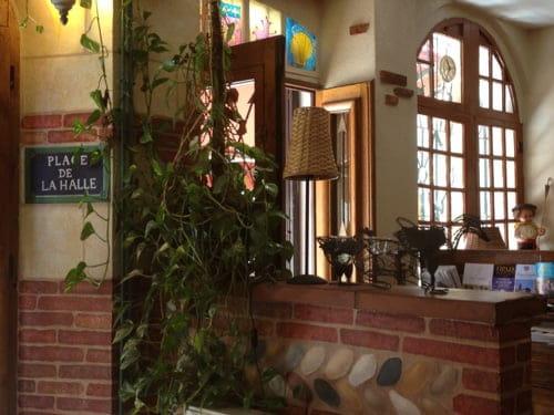 Restaurant de la Halle  - l'entrée -   © Patypen