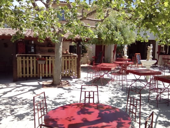 La Calabria  - terrasse ombragée -