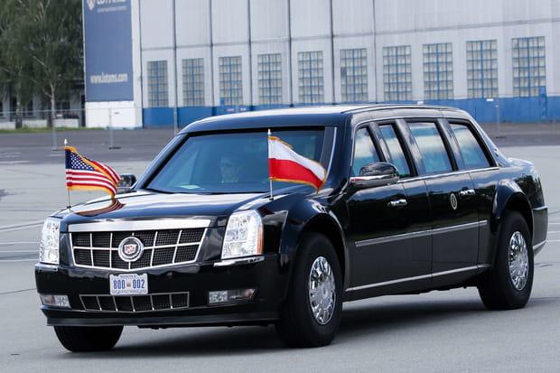 La Cadillac blindée de Donald Trump