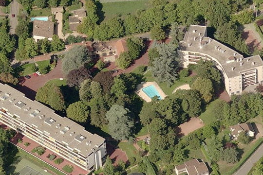 La résidence de Sidney Govou