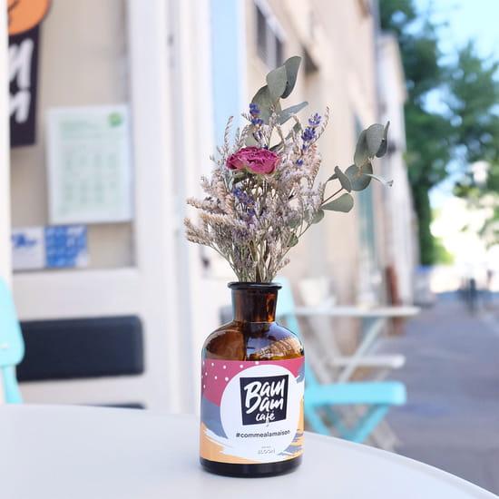 Restaurant : Bam Bam Café  - Petite terrasse -   © Antoine Sicot