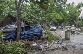 Tsunami en Indonésie: plus de 200morts, les images terribles du drame