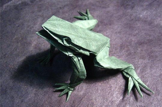 batracien de papier
