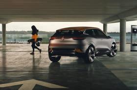 Les premières photos de la Renault Mégane eVision