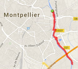 Montpellier : les bords du Lez (7 km)