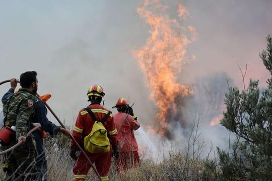 Grèce: la piste criminelle privilégiée après les incendies près d'Athènes