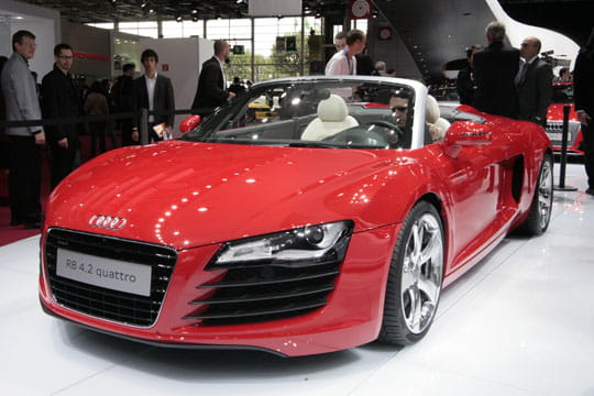 audi r8 spider. Black Bedroom Furniture Sets. Home Design Ideas