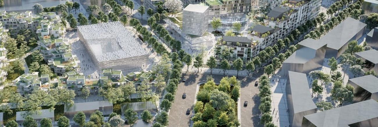 """Les 50projets qui vont dessiner le """"Grand Paris"""" de 2025"""